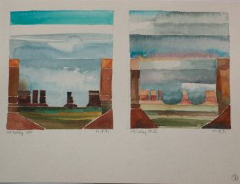 Walther Piesch: Monument Valley (1991)